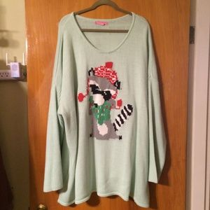 WOMAN WITHIN CHRISTMAS SWEATER 4X